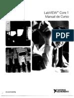 Lab View Core 1 Manual de Curso