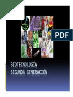 Biotecnología Segunda Generacion