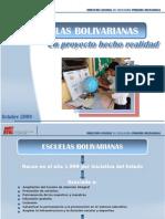 Escuelas Bolivarianas 2009