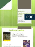 1era Sesion Practica - MIN 266- 2014-2