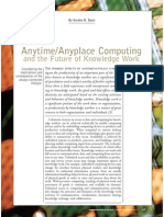 AnytimeAnyplace ComputingFutureofKnowledgeWork