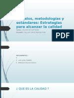 Modelos, Metodologías y Estándares