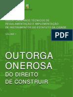Cartilha Técnica - Outorga Onerosa