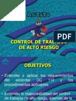 Control de Trabajos de Alto Riesgo Rev01