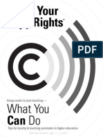 know your copyrights