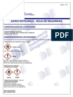 ACIDO ESTEARICO - MSDS