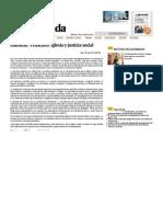 Editorial - Francisco- Iglesia y Justicia Social — La Jornada