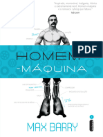 Homem Maquina - Max Barry