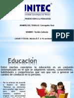 Introducción a la pedagogía