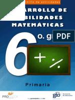 Cuadernillo Mat 6 Prim.