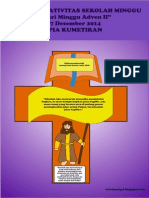 Bahan Kreativitas Sekolah Minggu 7 Desember 2014 PIA Kumetiran