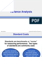 Standard Costs & Variance-Analysis