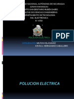POLUCION ELECTRICA