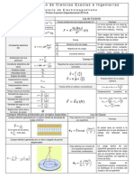 Formulario Electromagnetismo 1er Departamental