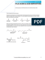 Carboxylic Acids Acid Derivatives