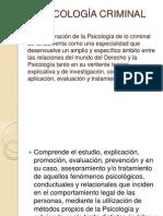 Psicología Criminal Diplomado