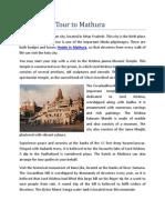 Plan a Holy Tour to Mathura
