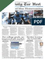 The Daily Tar Heel for Nov. 17, 2014