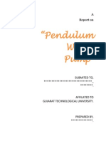 Pendulum Pumps