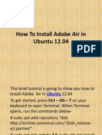 How To Install Adobe Air in Ubuntu 12.04-PPT 2.ppt