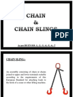 Inspection of Chain Slings