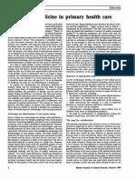Laboratory Medicine in PHC