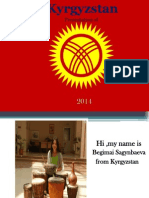 KYRGYZSTAN Final Presentation