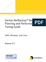 Veritas Backup Planning and Performance Tuning307083