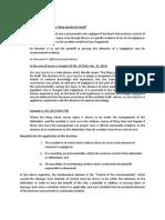 Doctrines in Legal Medicine