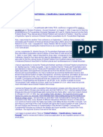preface & article - global pollution classification, causes and remedy