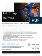 Emory IMVC Flyer