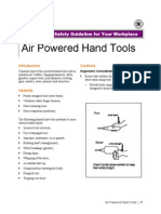 Air Powered Tools Safety