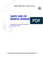 Bench Grinders Safety