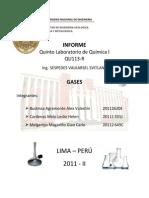 5 Informe de  Quimica 2