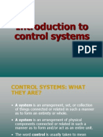 introduction to controls
