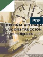 Geotecnia Aplicada a La Construcción de Túneles