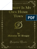 Detroit is My Own Home Town 1000543271