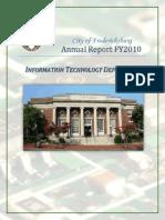 ITC Department Report