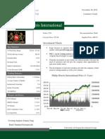 PMI Report