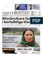 Västfronten 9 April 2014