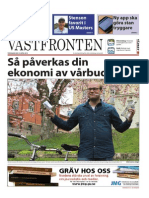 Västfronten 10 April 2014