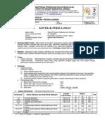Kontrak Kuliah Paket Program Statistika dan Simulasi