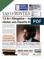Västfronten 24 Sept 2014