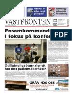 Västfronten 25 Sept 2014