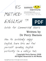Barnes Method English @ Guide for Commercial Users