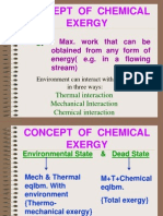 Concept of Chemical Exergy