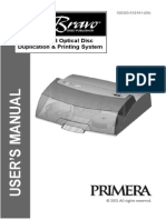 Primera Disc Publisher II Manual