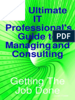 The Ultimate IT Professional's Guide to Managing and Consulting - Getting the Job Done-1921573147