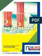 GATE Measurement Book
