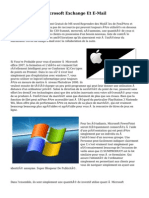 L'IPad D'Apple, Microsoft Exchange Et E-Mail